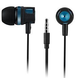 CANYON stereo sluchátka, špunty do uší, černo zelená