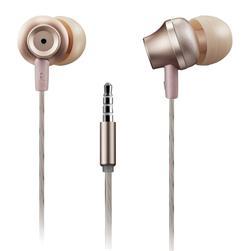 CANYON Stereo sluchátka s mikrofonem, kovová ,1,2M, růžová