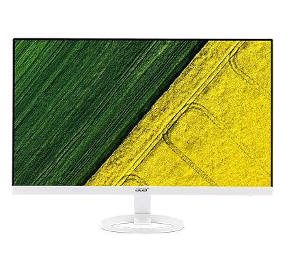 "Acer LCD R241Ywmid 23,8"" IPS LED /1920x1080/100M:1/4ms/250nits/ VGA, DVI, HDMI /ZeroFrame/Acer EcoDisplay/White"