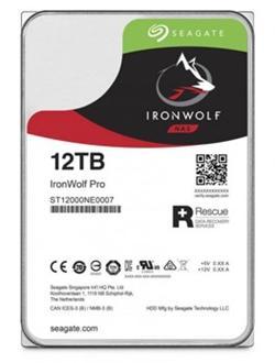 """Seagate IronWolf Pro 3,5"""" - 12TB (NAS) 7200rpm/SATA-III/256MB"""
