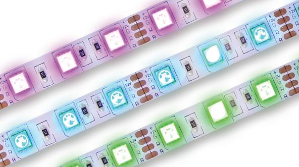 BeeWi Bluetooth Smart LED RGB Color LIGHTSTRIP 28W, programovatelný pásek, 2metry