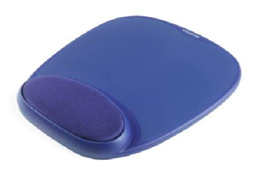 Kensington pěnová podložka zápěstí pod myš - modrá