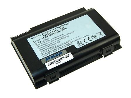 Náhradní baterie AVACOM Fujitsu Siemens LifeBook E8410, Celsius H250 Li-ion 14,4V 5200mAh/75Wh
