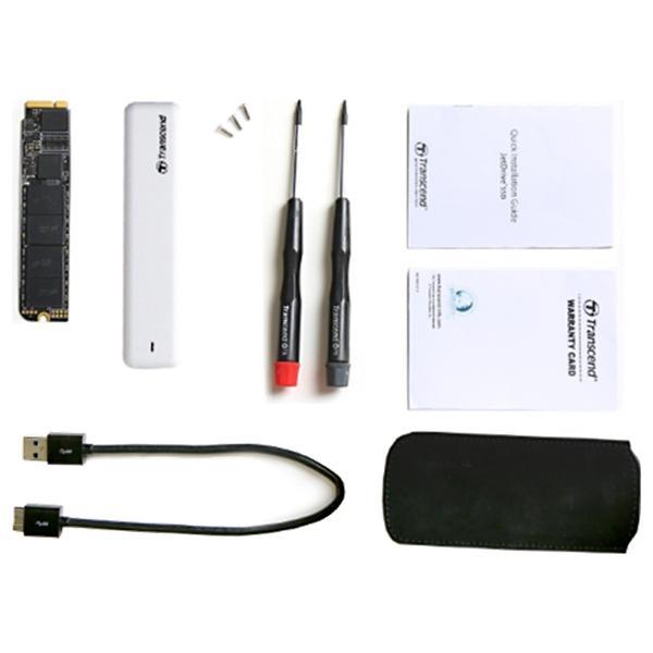 Transcend JetDrive 500 SSD upgrade kit pro Apple 480GB SATA6Gb/s, USB3.0