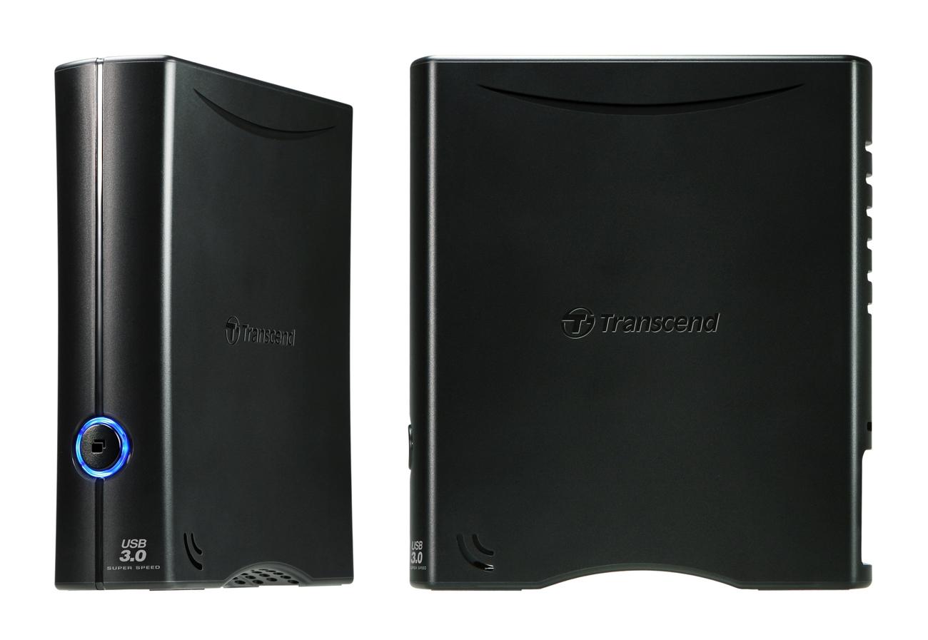 """TRANSCEND 8TB StoreJet 35T3, 3.5"""", USB 3.0, Externí hard disk, černý"""