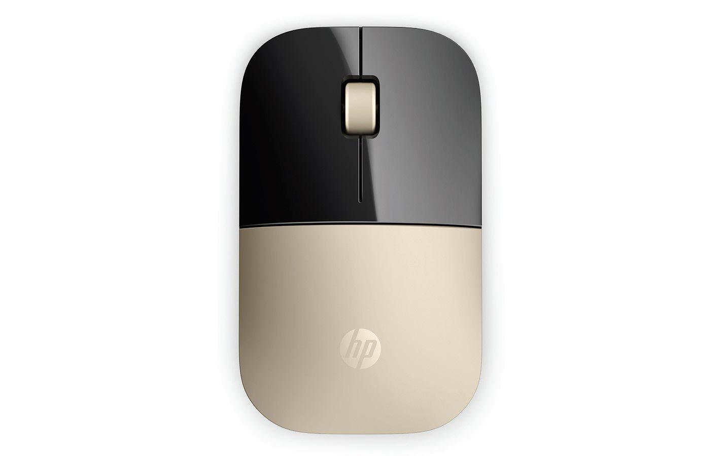 HP myš Z3700 bezdrátová zlatá