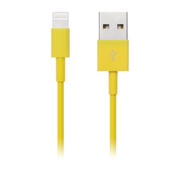 CONNECT IT COLORZ kabel Apple Lightning - USB, 1m, žlutý