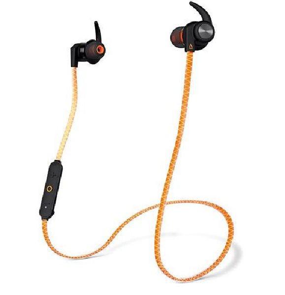 CREATIVE OUTLIER SPORTS oranžové ORANGE bluetooth sluchátka do uší (pecky) bezdrátové, s mikrofonem