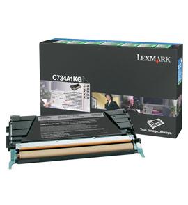 Toner Lexmark black | return | 8000str | C734/C736/X734/X736/X738