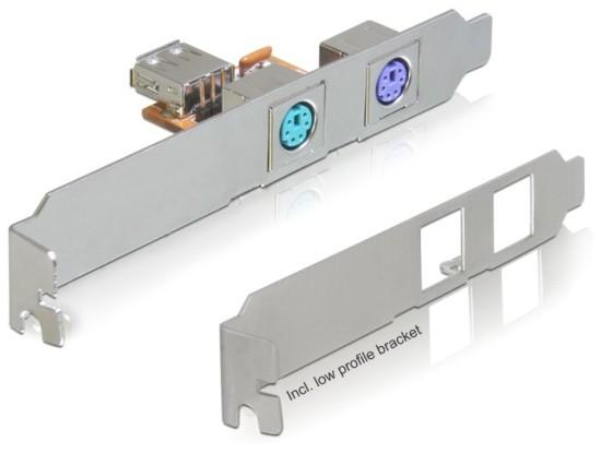 Delock zadní panel USB -> 2x PS/2