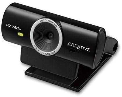 Creative WebCam Live! Cam Sync HD, 1280 x 720, černá, mikrofon