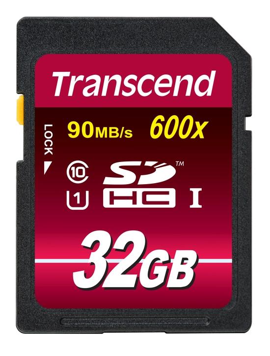 Transcend 32GB SDHC (Class 10) UHS-I 600x (Ultimate) MLC paměťová karta