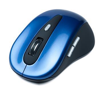 CONNECT IT bezdrátová optická myš - modrá