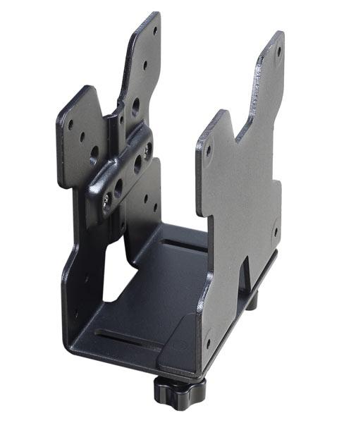 ERGOTRON THIN CLIENT CPU HOLDER, BLACK TEXTURED, držák pro tenkého klienta, kompatibilní s rameny a držáky