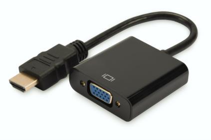 Digitus HDMI A na VGA Převodník, audio