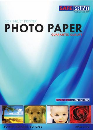 SAFEPRINT Fotopapír pro laserové tiskárny, matte, 200g, A4, 20 sheets