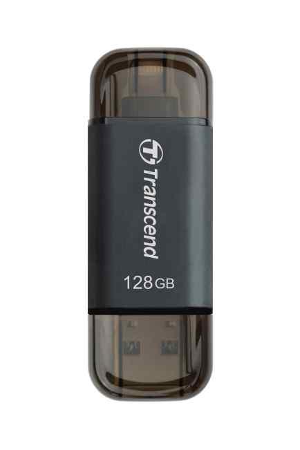 Transcend 128GB JetDrive Go 300, Lightning/USB 3.1, černý