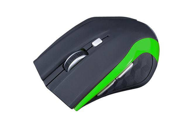 Modecom bezdrátová optická myš MC-WM5 (černo-zelená)
