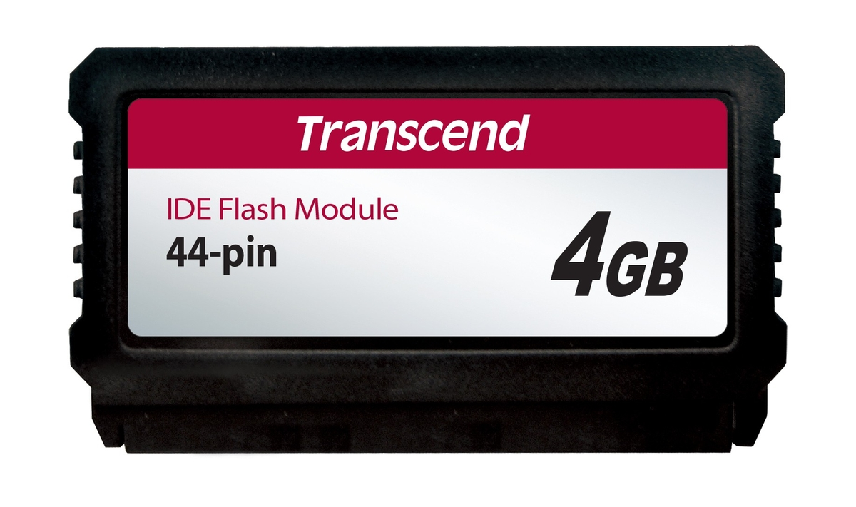 Transcend 4GB IDE FLASH MODULE (IDE 44PIN VERTICAL)