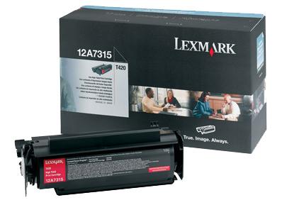 Toner Lexmark black [ 10000str | T420 ]