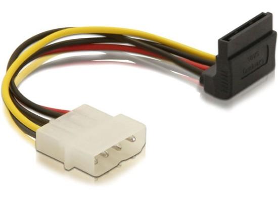 Delock napájecí kabel SATA HDD -> 4pin samec 15cm