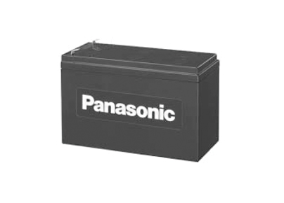 Baterie Panasonic 12V 7,2 Ah (FASTON 250)