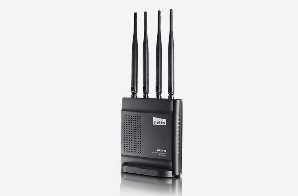 Netis 1200Mbps Wireless AC1200 Gigabit router 4T4R