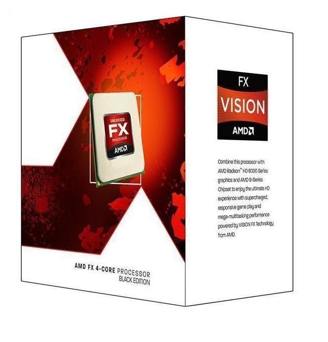 AMD FX-4300, Quad Core, 3.80GHz, 4MB, AM3+, 32nm, 95W, BOX