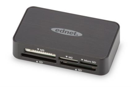 Ednet MULTI CARD READER USB 2.0, 31 in 1