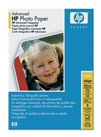 Q5456A Advanced Photo Paper, Glossy, A4, 25 listů, 250 g/m2