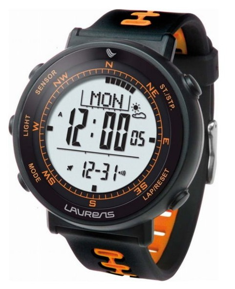 Laurens Weather Master - Outdoorové hodinky s teploměrem, barometrem, kompasem