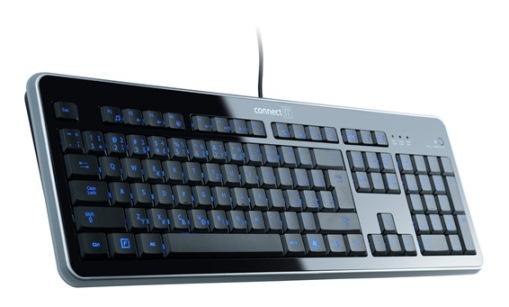 CONNECT IT klávesnice LED podsvícená, SK layout, USB
