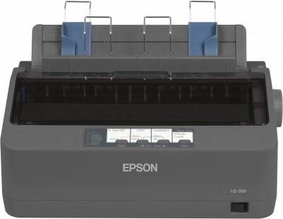 EPSON tiskárna jehličková LQ-350, A4, 24 jehel, 347 zn/s, 1+3 kopii, USB 2.0, LPT,RS232