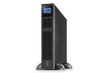 DIGITUS OnLine UPS, 1500VA/1350W, 12V/9Ah x3 battery, 8x IEC C13, power factor 0.9 LCD display