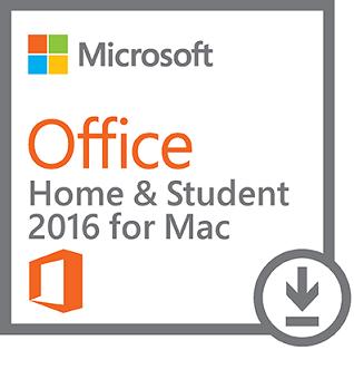 Office Mac Home Student 2016 All Lng - elektronická licence