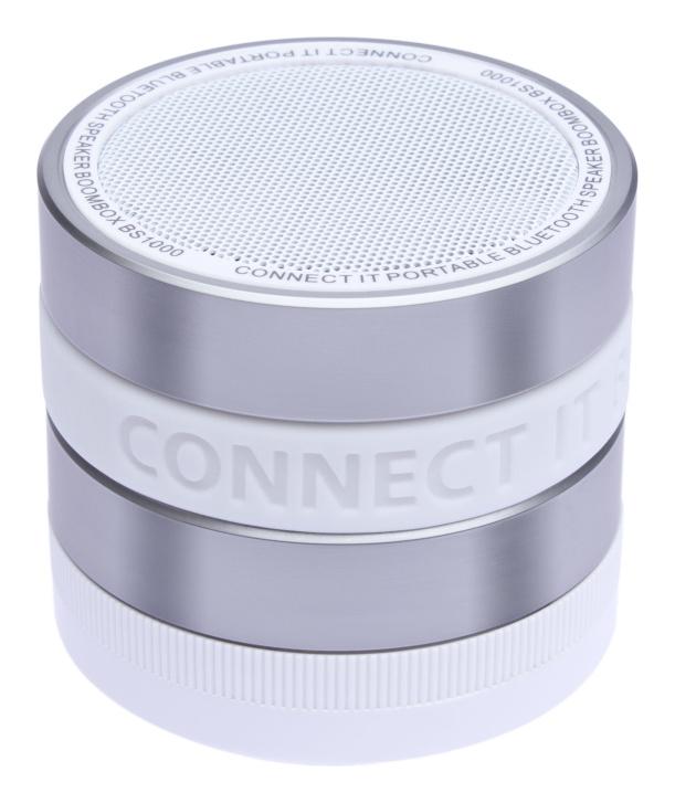 CONNECT IT Bluetooth reproduktor BOOM BOX BS1000WH, BÍLÝ