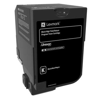 Toner Lexmark černý | 20 000 str | CS720de / CS720dte / CS725de / CS725dte
