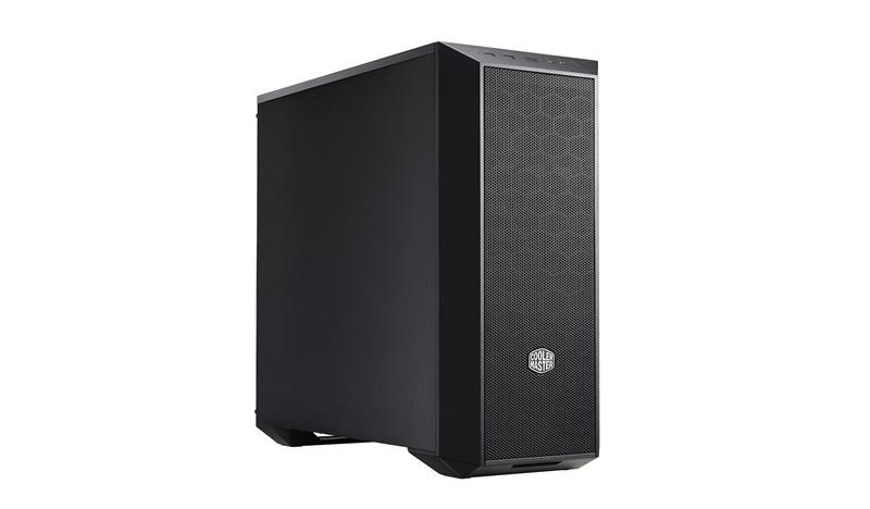 CoolerMaster case miditower MasterBox 5 v.06, ATX, USB3.0, bez zdroje, černý