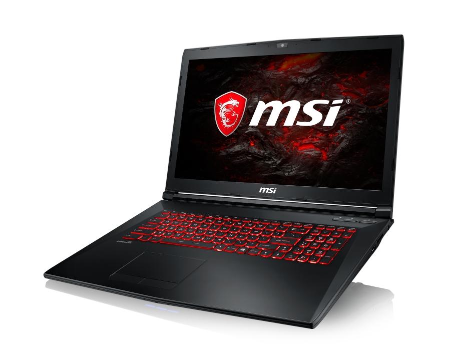 "MSI GL72M 7RDX-1042CZ /i7-7700HQ Kabylake/8GB/128GB SSD+1TB HDD/GTX 1050, 4GB/17,3""FHD/Win10"