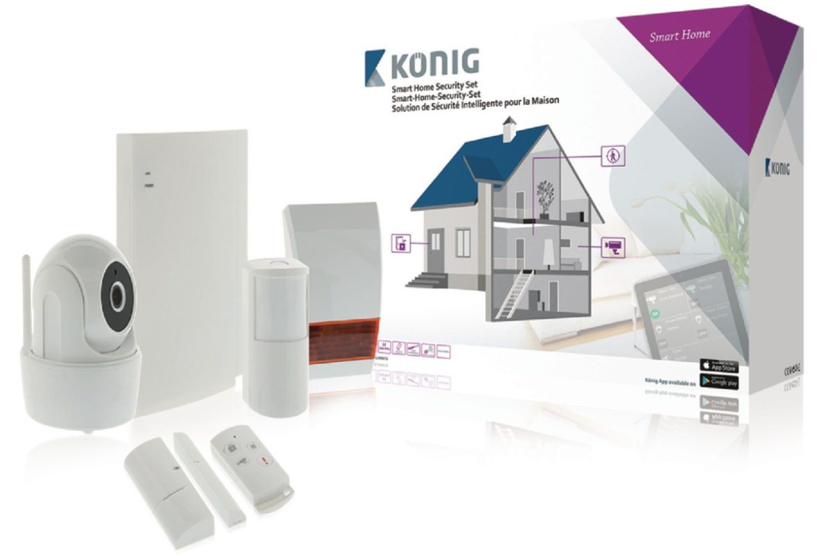 Smart Home Security Set Wi-Fi / 868 Mhz
