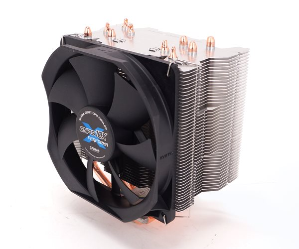 Zalman chladič CPU CNPS10X PERFORMA PLUS, univ. socket, 120mm PWM fan, 5x heatpipe