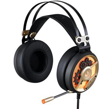A4tech Bloody M660, herní sluchátka, MOCI, 4 pin i USB,černo-zlaté