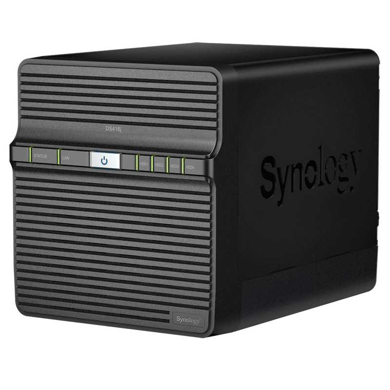 NAS Synology DS418j RAID 4x SATA server, Gb LAN