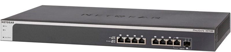 Netgear 8PT PROSAFE 10G PLUS SWITCH