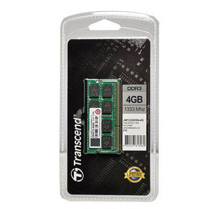 Transcend paměť 4GB DDR3 SO-DIMM 1333Mhz CL9