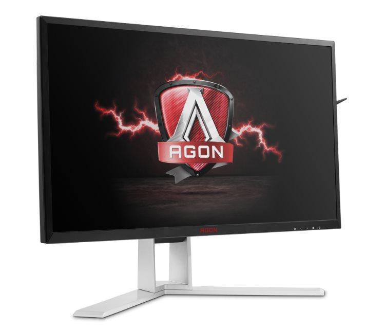"AOC LCD AG271QX 27""wide/2560x1440/1ms/50mil:1/VGA/DVI/2xHDMI/4xUSB/DP/repro/vesa"