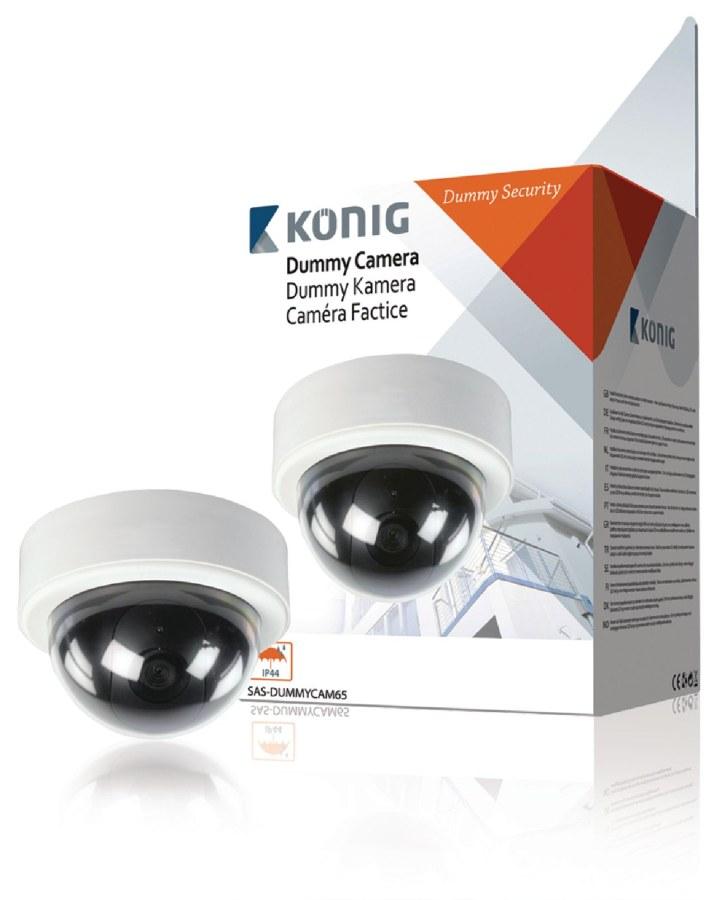 König atrapa venkovní kopulovité kamery