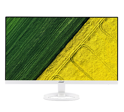 "Acer LCD R271WMID 27"" W IPS LED/1920x1080/100M:1/4ms/250nits/DVI/HDMI/ZeroFrame/Acer EcoDisplay/White"