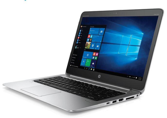 HP EliteBook Folio 1040 G3 i7-6500U /8 GB/256GB SSD/14'' FHD/backlit keyb, NFC, RJ45-VGA adapt / Win 10 Pro + Win7 Pro
