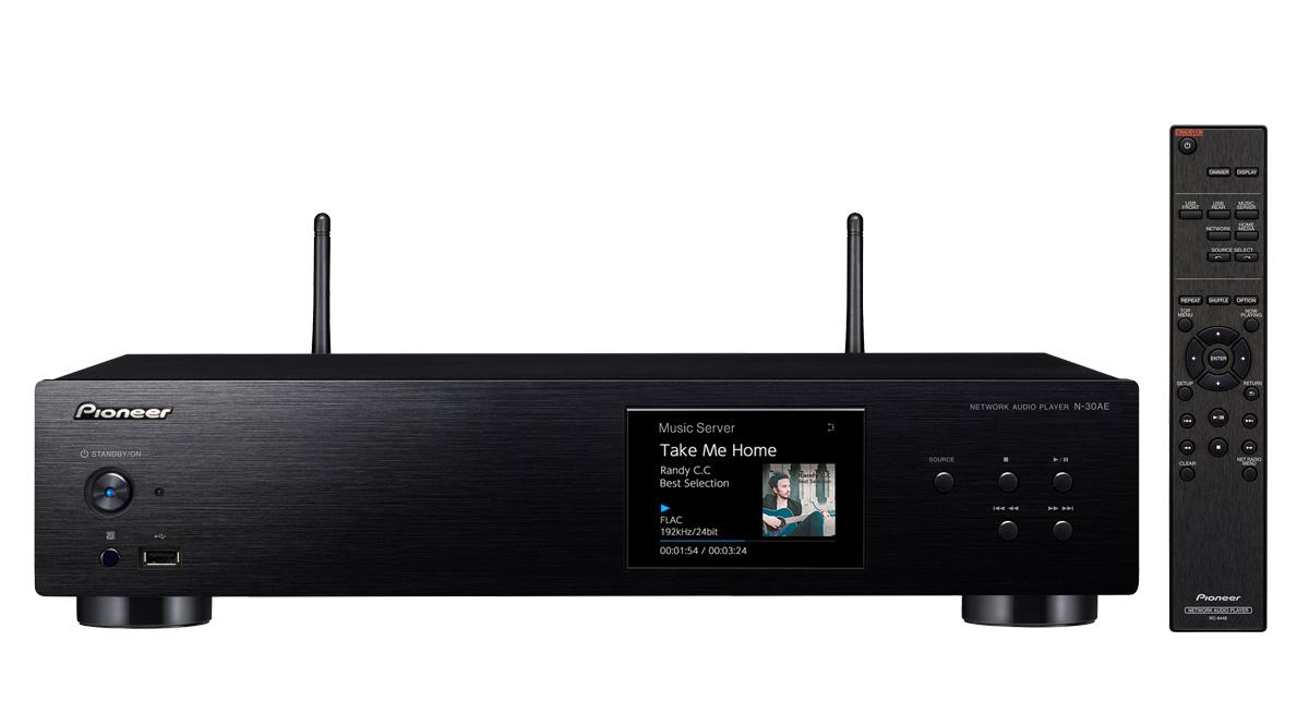Pioneer síťový Hi-Res audio přehrávač černý